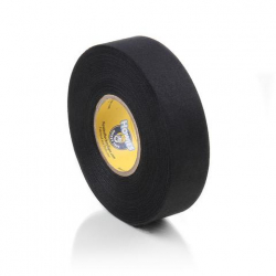 Лента хоккейная 24мм x 13,7м TSP Cloth Hockey Tape black 2730